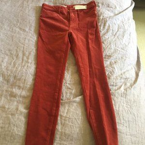 Pilcro Anthropology High Rise Skinny Jeans